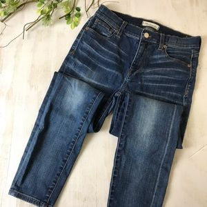 Madewell High Rise Skinny Jeans Size 8